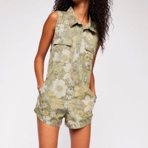 Spell & The Gypsy Eden Camo Romper